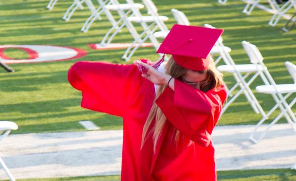 Carolyn HS Graduation