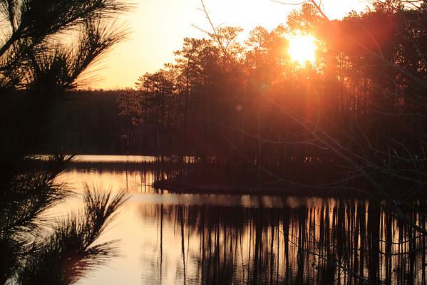 Jordan Lake New Hope Overlook