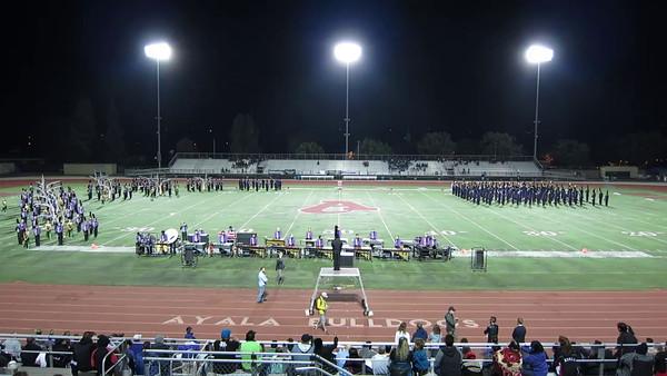 AVHS Band at Ayala 10-18-2014