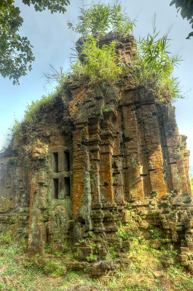 Ruined temples at Mỹ Sơn Sanctuary