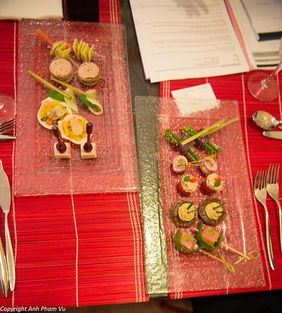 Food Tasting Wedding Jan 2013