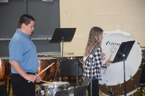 Plum City MS/HS Spring Concert, April 30th, 2019
