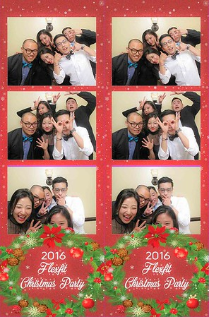 Flex Fit Holiday Party #FramedInHollywood Photobooth 12.18.2016