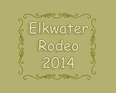 Elkwater Rodeo 2014