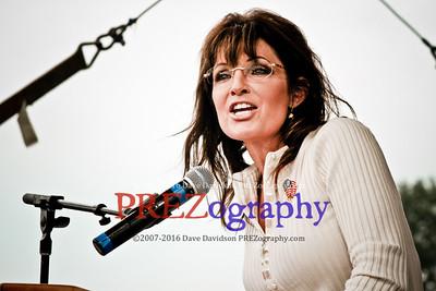Sarah Palin Indianola Tea Party