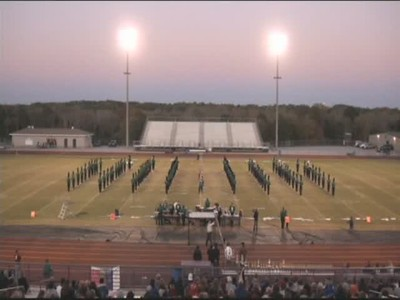 2011-11-09 Video - Hiram Marching Competition
