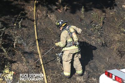 Brush Fire - Riverbank Rd, Stamford, CT - 10/4/17
