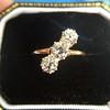 1.38ctw Antique Old European Cut Diamond 3-Stone Ring 9