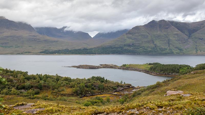 Loch Torridon and Highland mountains