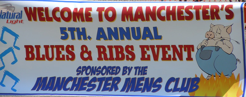 Manchester's 5th Annual Blues & Ribs 5/22/10