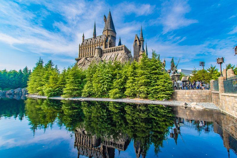 Hogwarts Castle at Universal Studios Japan. Editorial credit: DRN Studio / Shutterstock.com