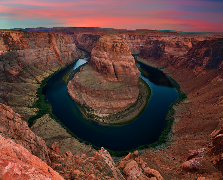 Farewell Sunrise Horseshoe Bend