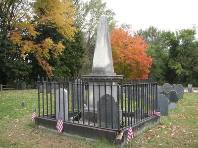 William Eustis M.D. Grave