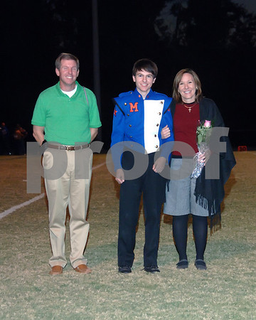 Marshall County Band And Fall Sports Senior Night October 22, 2010.