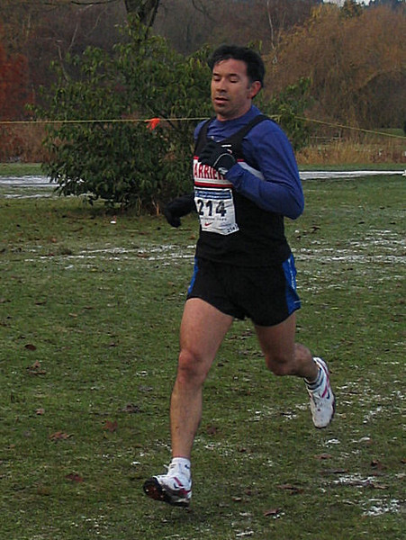 2005 Canadian XC Championships - Arturo Huerta - Olympic racewalker
