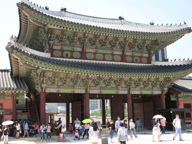 Back side of Heungyemun (second) gate