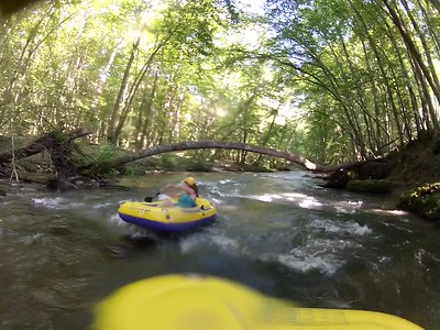 Dinghy Rafting La Versoix River