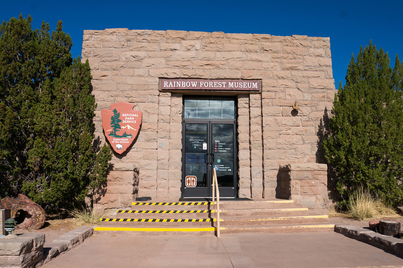 Rainbow Forest Museum in the Petrified Forest National Park