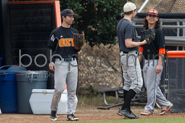Oxy Baseball vs Alumni 1-23-16