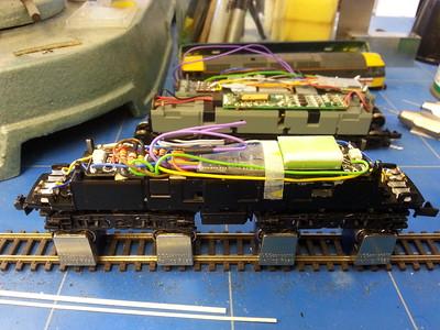 Graham Farish Class 31 sound project.