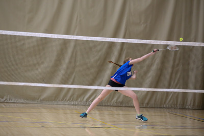 Badminton Sectionals Apr. 21, 2018