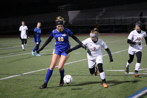 Lenox Girls Soccer vs. Gateway, Western Mass. semifinals - 111319