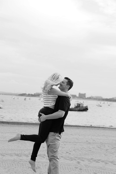 Kathy & Connor's Beach Engagement Session