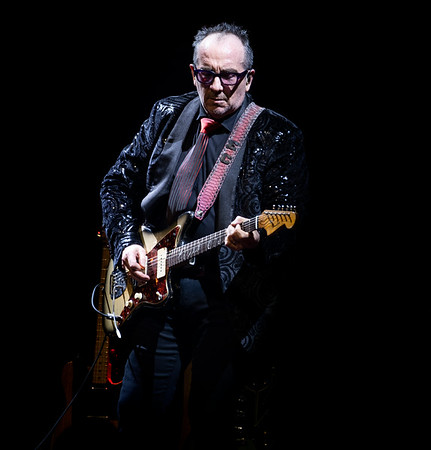Elvis Costello, the Olympia, Liverpool. Support from Ian Prowse