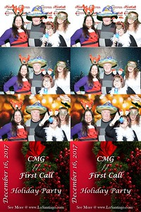 CMG/First Call Holiday Party 2017