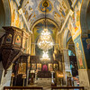 Inside the Greek Orthodox Church, Nazareth, Israel
