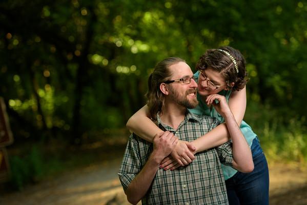 Maria and Matt (Engagement Photography) @ Henry Cowell, Felton, California