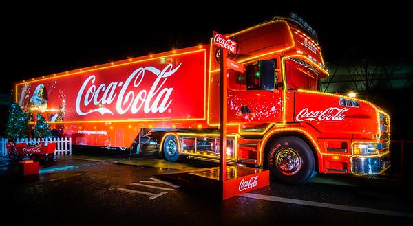 Coca-Cola Christmas Truck
