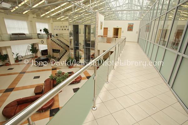 RUSSIA, Moscow. Shaarei Tzedek Humanitarian Center. (8.2011)
