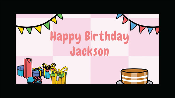Jackson Yollin 15th Birthday Video