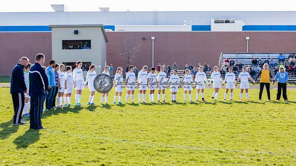 JCHS Girls Varsity Soccer 2016