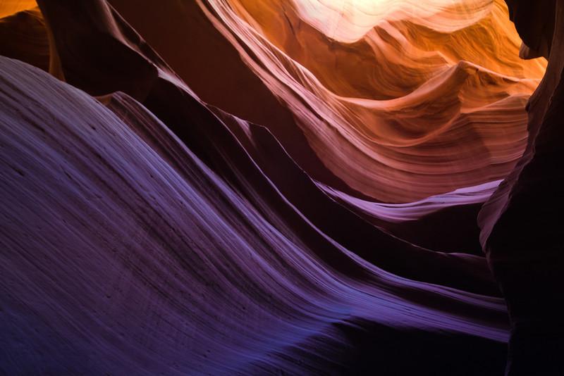 Lower Antelope Canyon.