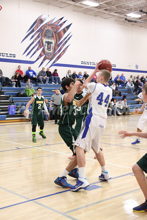 Boys Basketball, Maharishi vs Danville 1/16/2014