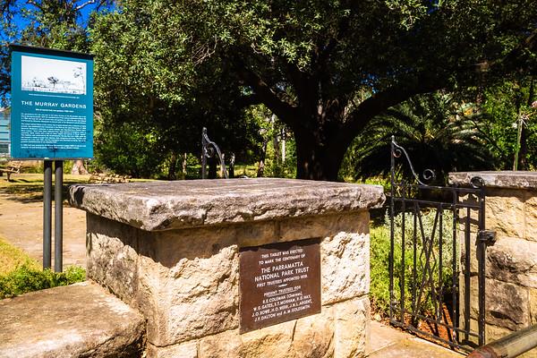 Parramatta Park : Murray Gardens