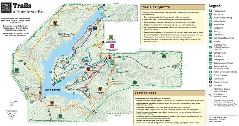 Huntsville State Park (Trails)