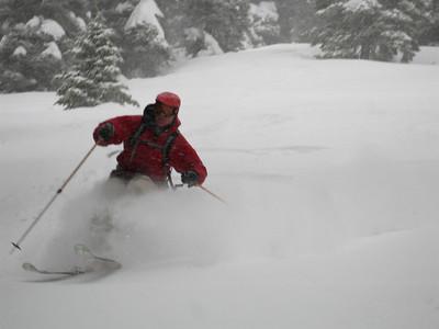 Pilot Peak_March 15, 2009