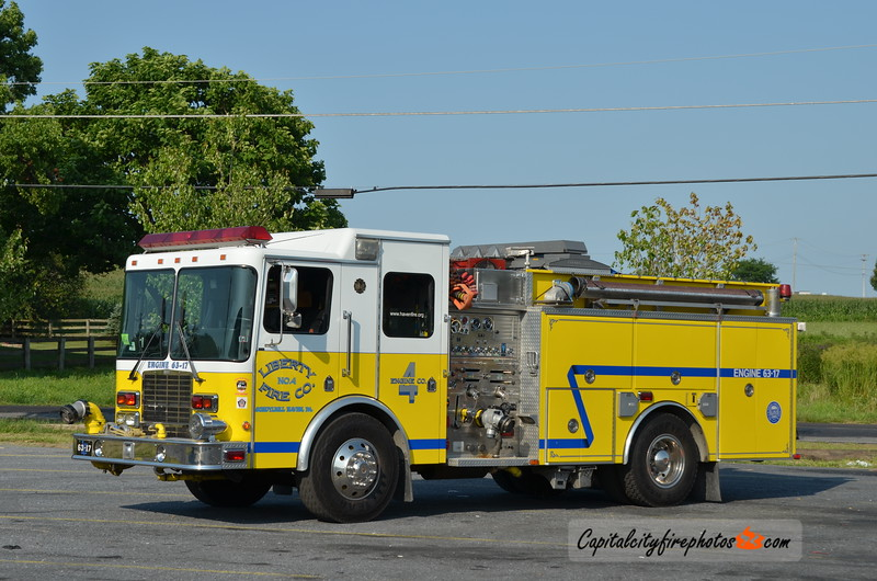 Schuylkill Haven (Liberty Fire Co. 4) Engine 63-17: 1998 HME/4 Guys 1250/750