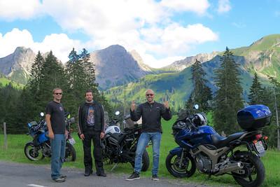 Swiss moto rides