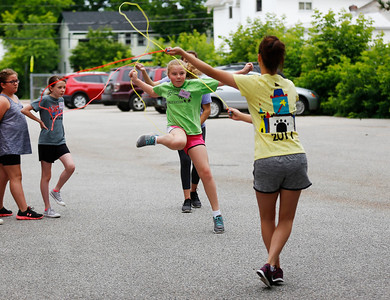 Jump rope camp in Bennington. 062917