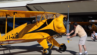Biplanes at Gillespie Field