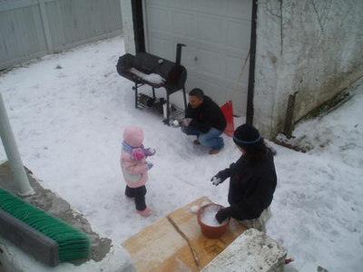 Babies Snow Day