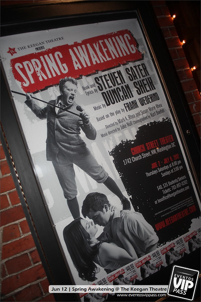 Spring Awakening @ The KEEGAN Theatre