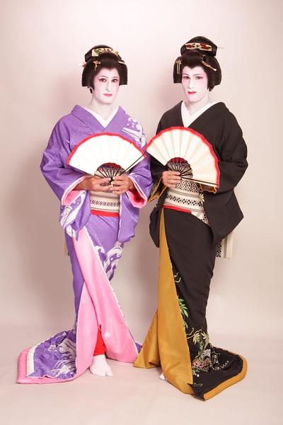 Stef Seb geisha with fans.JPG