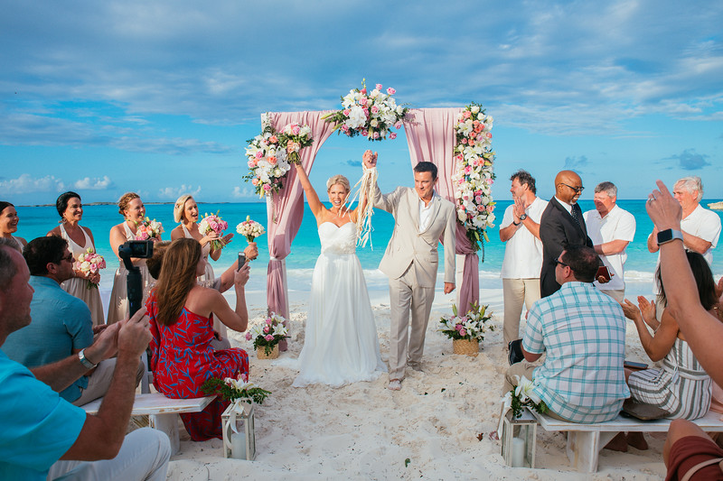 Exuma Beach Wedding at the Salt House Exuma photo by Reno Curling #renocurling