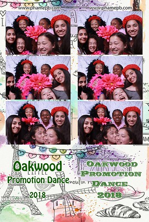 Oakwood Middle School Promotion Dance 2018