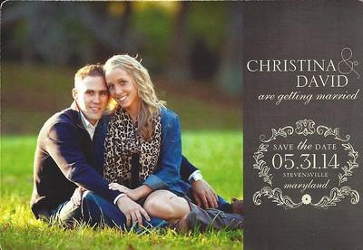 Christina Anderson / David Taylor Wedding (May 2014)